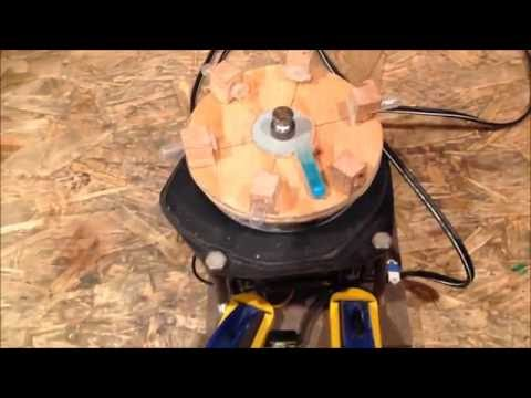 DIY Centrifuge from Vacuum Cleaner