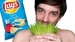Scientists Discover Grass That Tastes Like Salt And Vinegar Chips - Organic Vegan Food