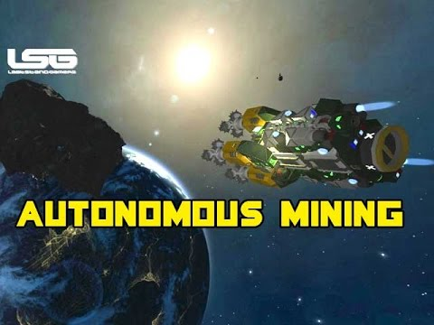 Space Engineers - Autonomous Mining Drone