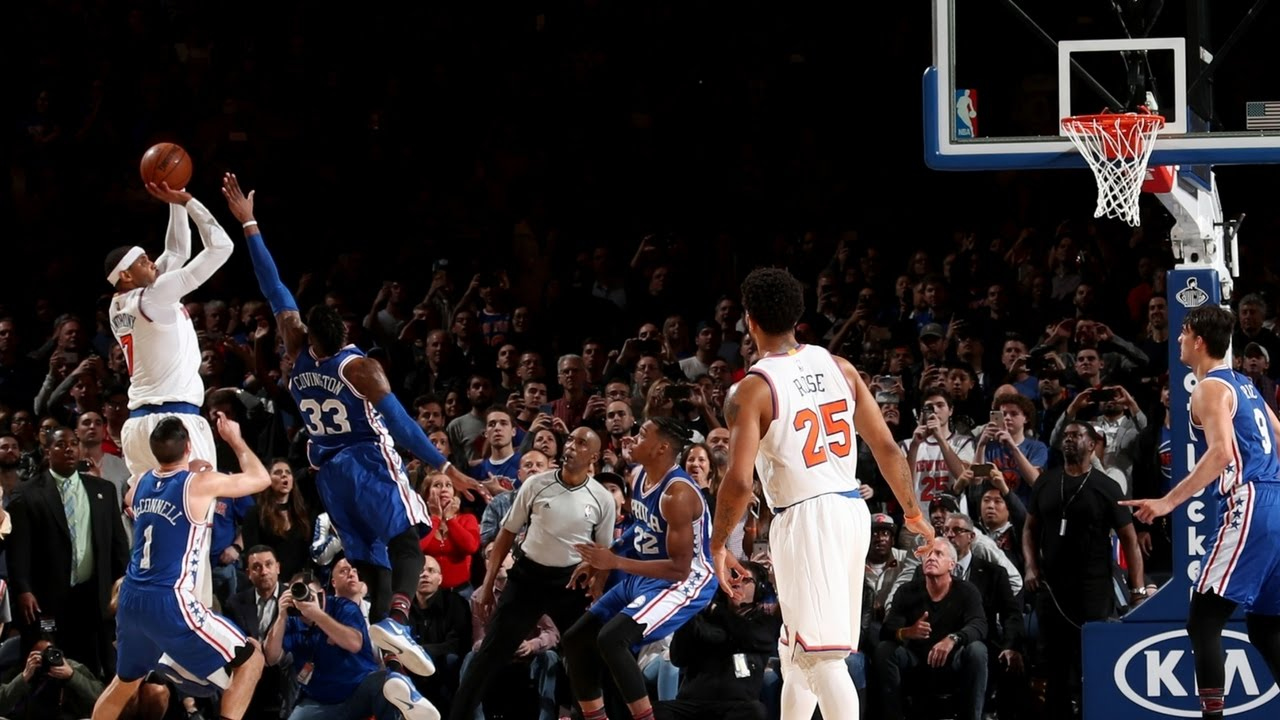 Download Carmelo Anthony with 2 Clutch Baskets! Crunch Time in New York!