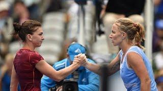 2016 Apia International Sydney Semifinal WTA Highlights