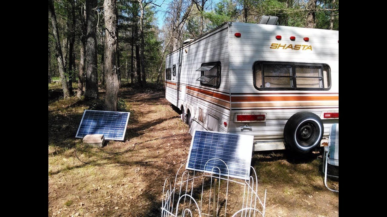 Off Grid Camper In The Woods Series Intro Youtube