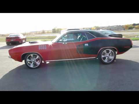 """18"""" Show Wheels on a '71 Cuda"""