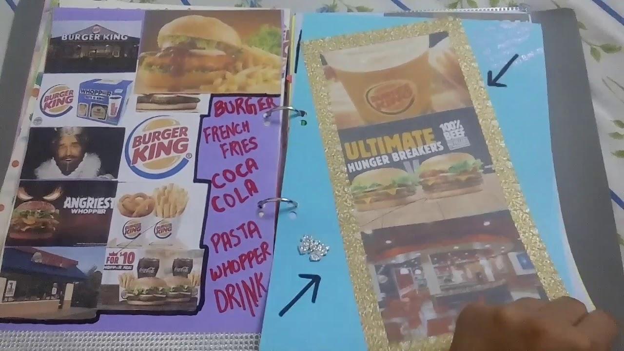 Fayol principal project ( burger king )