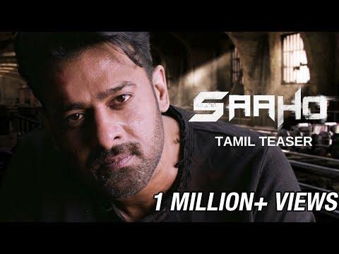 Saaho - Official Tamil Teaser   Prabhas, Sujeeth   UV Creations