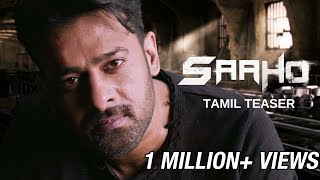 Saaho - Official Tamil Teaser | Prabhas, Sujeeth | UV Creations