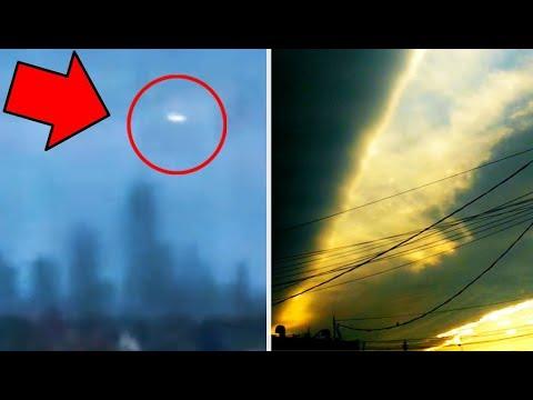 UFO NYC Skyline Confusion | Strange Sky Phenomena Blazing Up The World!
