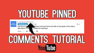 How to Pin coṁment in youtube videos