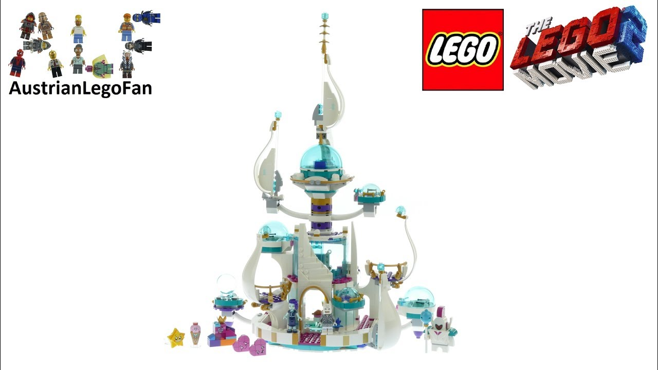Lego 70838 Lego Movie 2 queen Whateva/'s not so evil Space Palace Build only Rare
