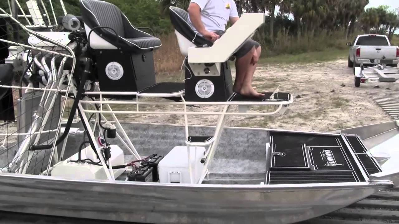 2013 Hamant Airboat