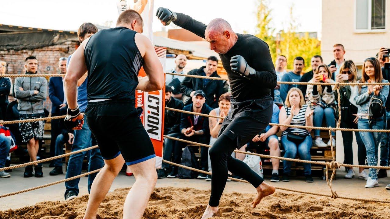СТАРЫЙ ВОЛК против Молодого Боксера !!!