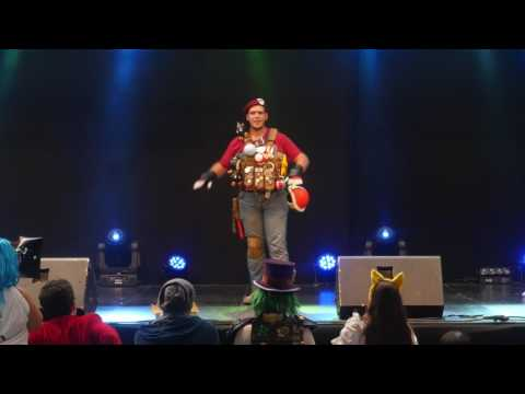 related image - Festival Mangalaxy 2016 - Concours Cosplay Samedi - 02 - Mario