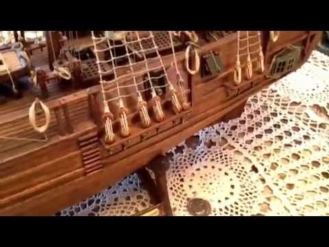 Model ships, HMS Bounty, (3rd episode, edited version)