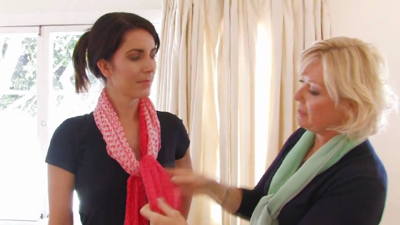 48f8cd441c6 How to Wear a Long Scarf- Fashion   Beauty- ModernMom - YouTube