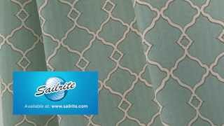 Video Of Waverly Sun N Shade Chippendale Fretwork Mineral Fabric #672553