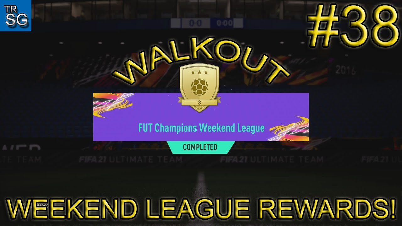 Download FIFA 21 - MY GOLD 3 WEEKEND LEAGUE REWARDS! #38