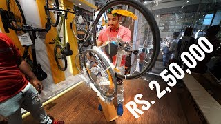 MY BICYCLE WORTH 2.5 LAKHS