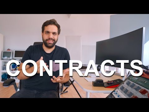 CONTRACTS YOU NEED AS A MUSIC PRODUCER