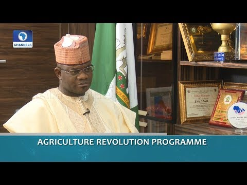 Gov Bello On Agricultural Revolution Programme | Dateline Abuja |