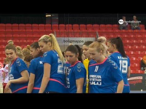 Larvik - Zalau away match EHF Cup