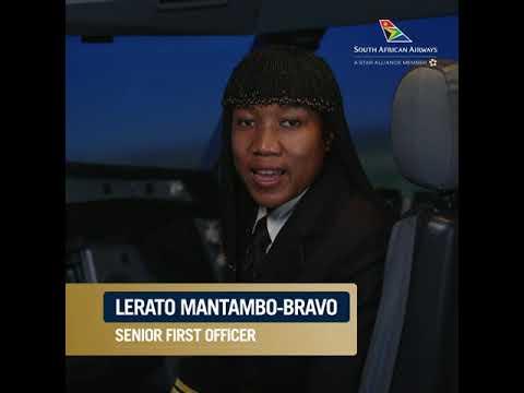 Interview with Lerato Mantambo-Bravo, SAA Senior First Officer