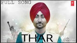 Thar-Ranjit-bawa- new latest Punjabi song mp3