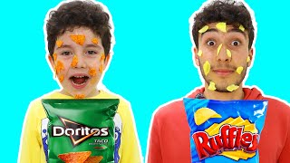 Yusuf and Uncle's Funny Chips Story