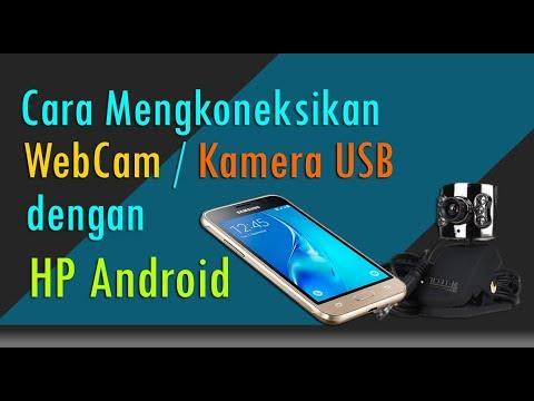 Cara Menggunakan Webcam / kamera USB di HP Android