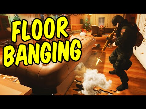 Thumbnail: FloorBanging the Enemy - Rainbow Six Siege Funny Moments & Epic Stuff