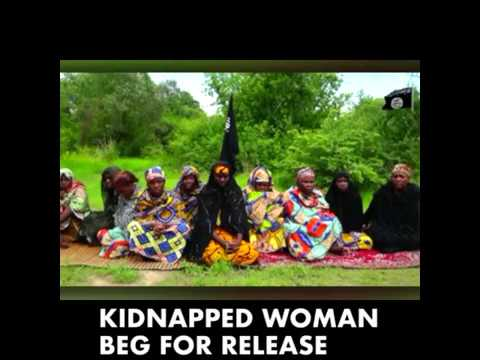 Women kidnapped by Boko Haram beg Nigerian government to do something