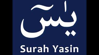 Amazing and beautiful recitation of Surah Yasin full by Qari Ziyad Patel
