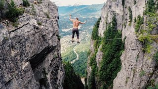 Free-Solo Slacklining (500 ft. high) Ep.2