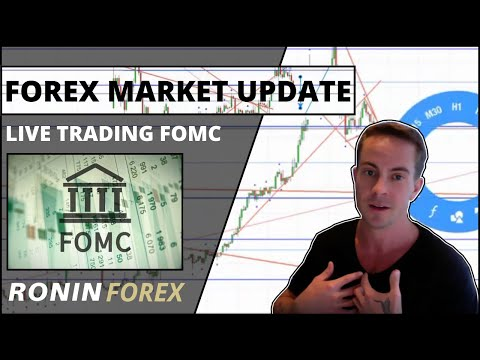 Forex Market Update ~ Live Trading FOMC with Ronin Forex