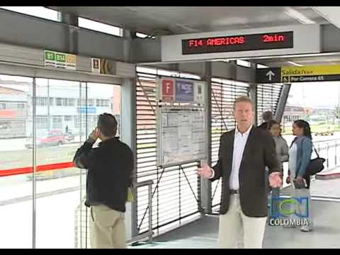 How to use Transmilenio, the massive transport system in Bogotá? RCN news in English´s video