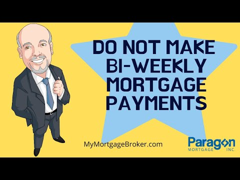 Don't Make Bi-Weekly Mortgage Payments | Biweekly Mortgage Payments vs. Monthly Payments