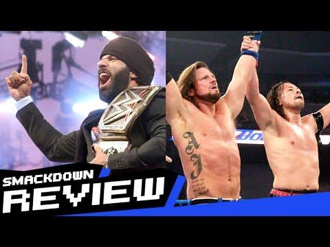 REVIEW-A-SMACKDOWN 5/23/17: Jinder Punjabi Celebration, Hardys vs Anthem, Nakamura & AJ Team-Up