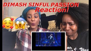 REACTION to  Dimash Kudaibergen- SINFUL PASSION