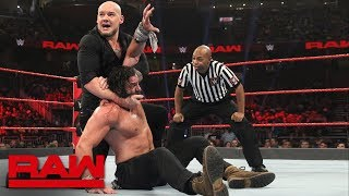 Elias vs. Baron Corbin: Raw, Jan. 7, 2019