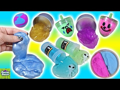 Thumbnail: New SQUISHY Stuff! ALIEN Slime! Slime & Putty For My Collection! Doctor Squish