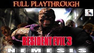 RESIDENT EVIL 3 NEMESIS : Longplay - Hard Difficulty
