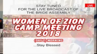 WOMEN CAMP 2018 DAY 2 MORNING (14.11.2018) LIVE BROADCAST