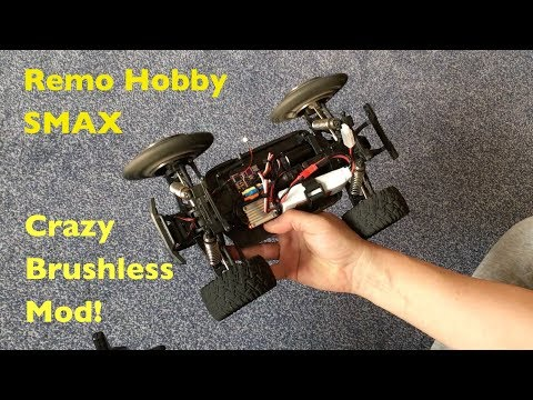 REMO Hobby SMAX: Crazy Fast Brushless Conversion, DIY Arduino Remote!