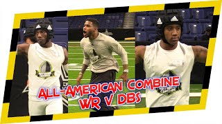 🔥 2020 National Combine WR vs DB 1 on 1s 🔥 - All American Combine in San Antonio is CRAZY!