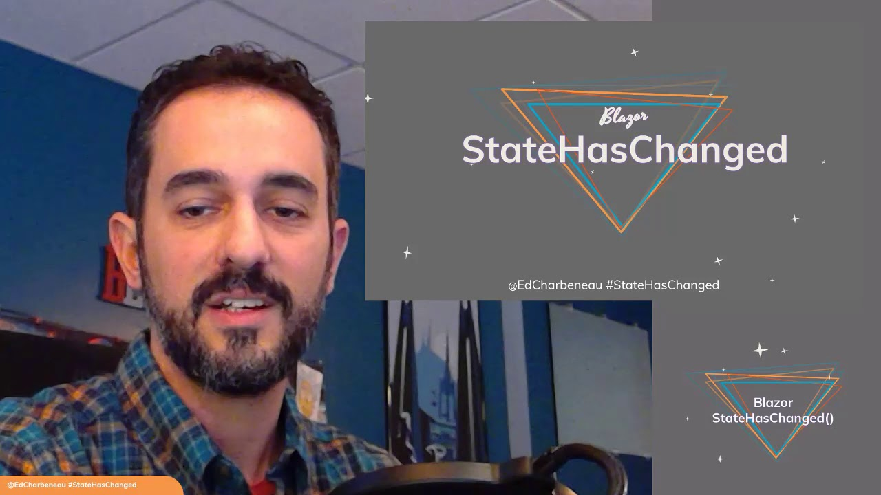 Blazor StateHasChanged is your weekly dose of Blazor community news and  live code demos