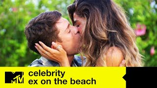Ep#1 First Look: Joey & Lorena's Secret Smooch | Celeb Ex On The Beach