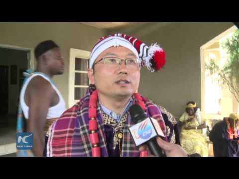 Chinese entrepreneur honored traditional title in Nigeria