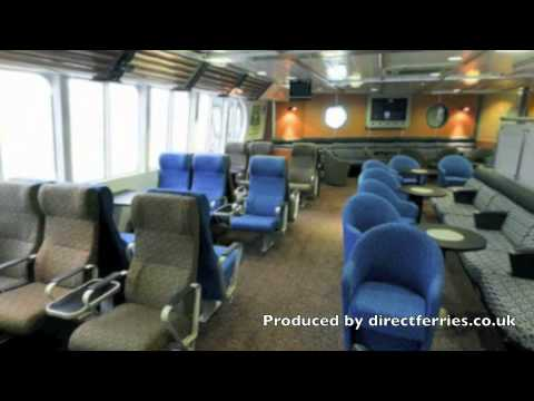 Onboard Stena Express ferry with Stena Line