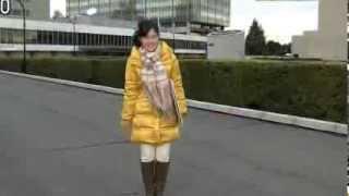 a woman announcer midori matsuo.