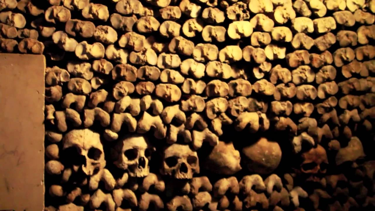 Inside the Catacombs of Paris - YouTube