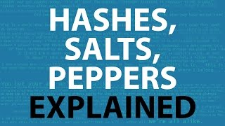 Password Hashing, Salts, Peppers | Explained!